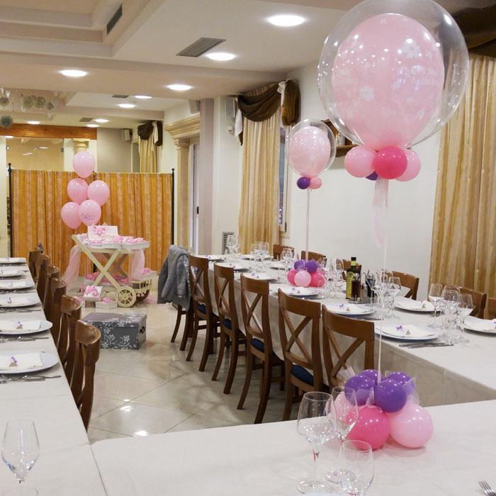 Decorazioni con palloncini per matrimonio wf31 - Addobbi tavolo battesimo ...